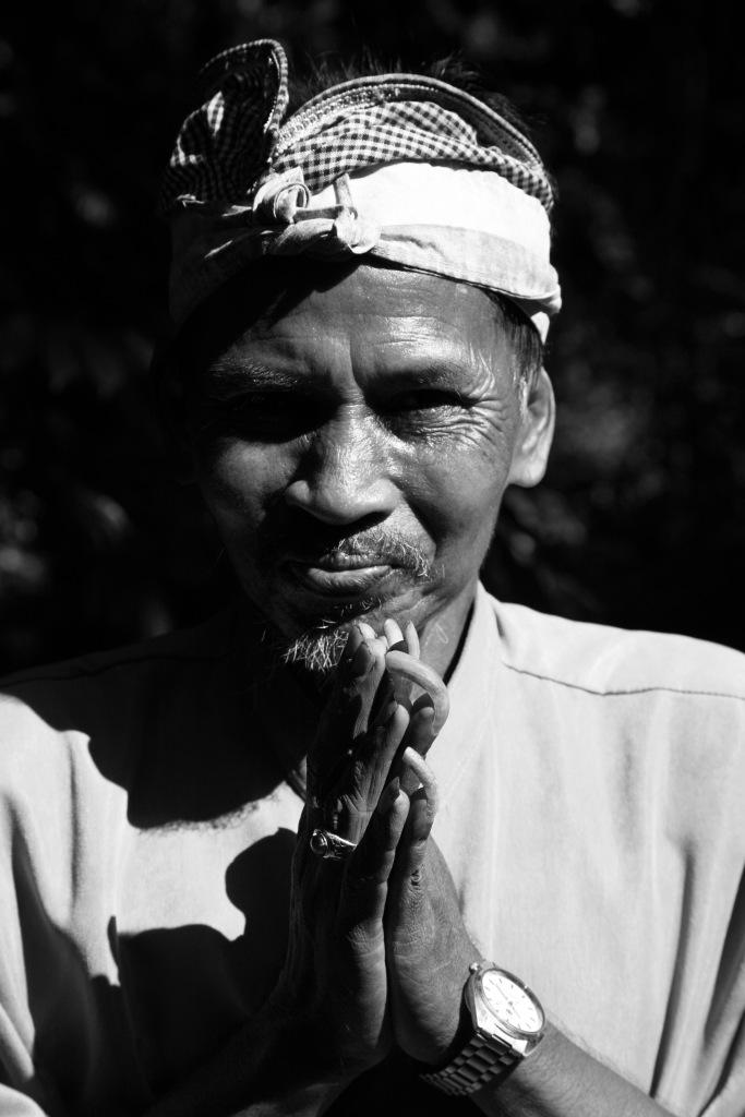 Bali man