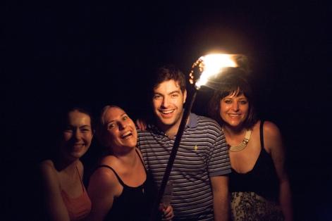 Sarah, Nate, Anne - laure, Jodie-1