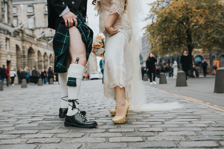 David and Isabel,Edinburgh City Chambers-238