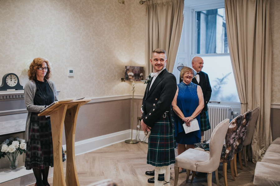 David and Isabel,Edinburgh City Chambers-36