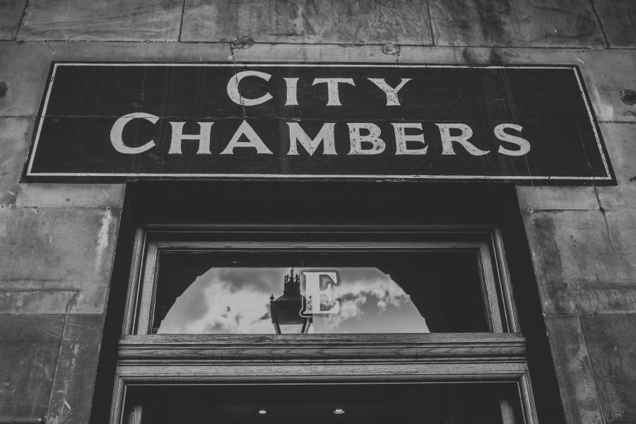 David and Isabel,Edinburgh City Chambers-4